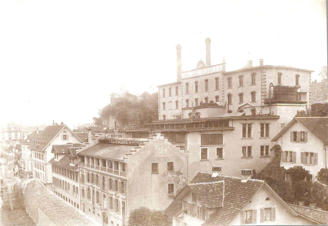 Brauerei Spiess 1899 1900